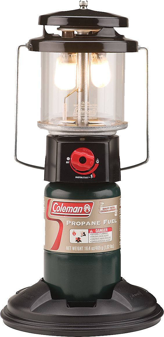 grey petrol lamp powerhouse coleman zoom benzinlampe fid