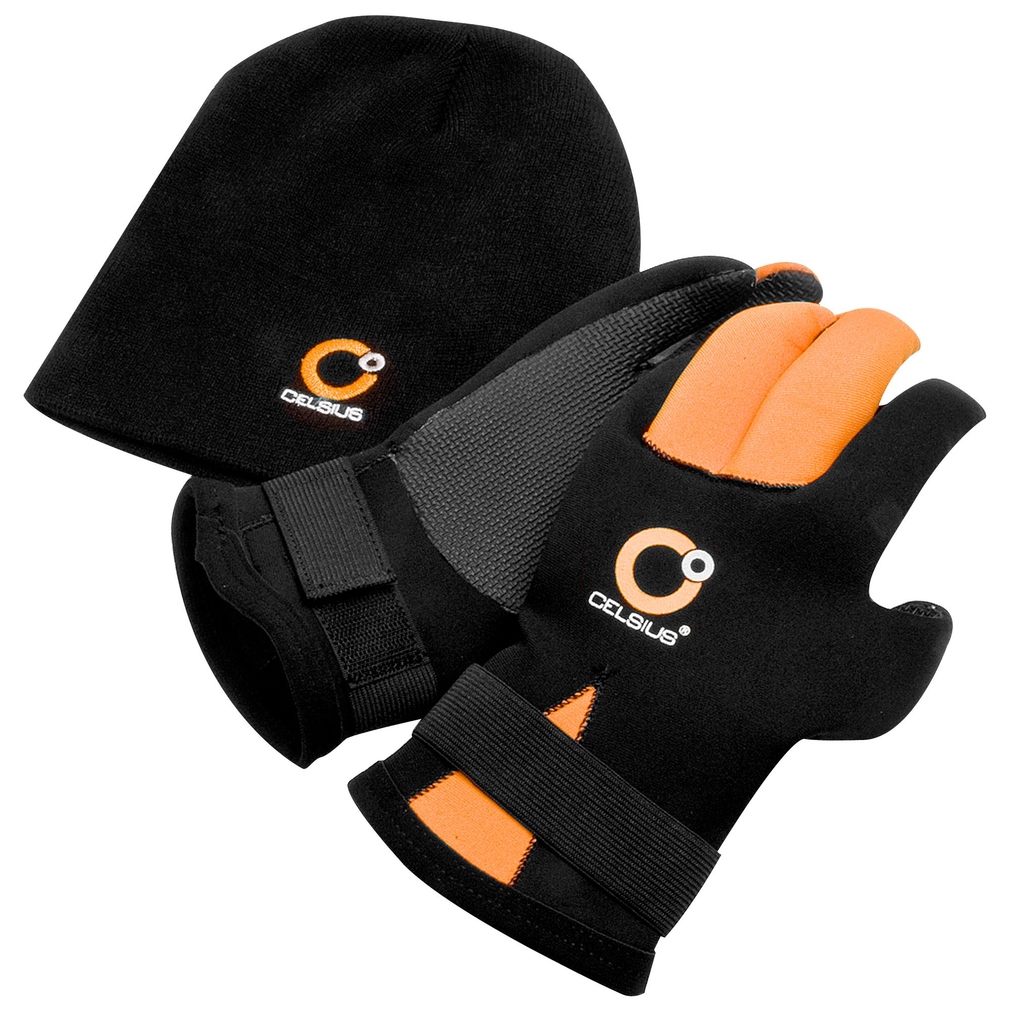Mens gloves use iphone - Product Image Celsius Adult Neoprene Gloves And Hat Combo