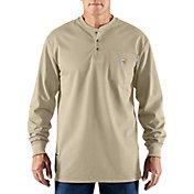 Carhartt Men's Force Flame Resistant Henley Long Sleeve Shirt