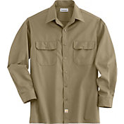 Carhartt Men's Twill Long Sleeve Work Shirt - Big & Tall