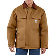 Carhartt Men's Traditional Arctic Quilt-Lined Duck Coat