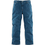 Carhartt Men's Washed Denim Work Dungarees - Big