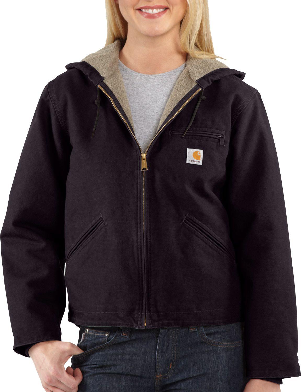 Carhartt Women's Sandstone Sierra Sherpa Lined Jacket by Carhartt