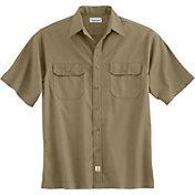 Carhartt Men's Twill Short Sleeve Work Shirt - Big & Tall