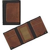 Carhartt Men's Black & Tan Trifold Wallet