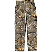 Carhartt Boys' Washed Camo Dungarees