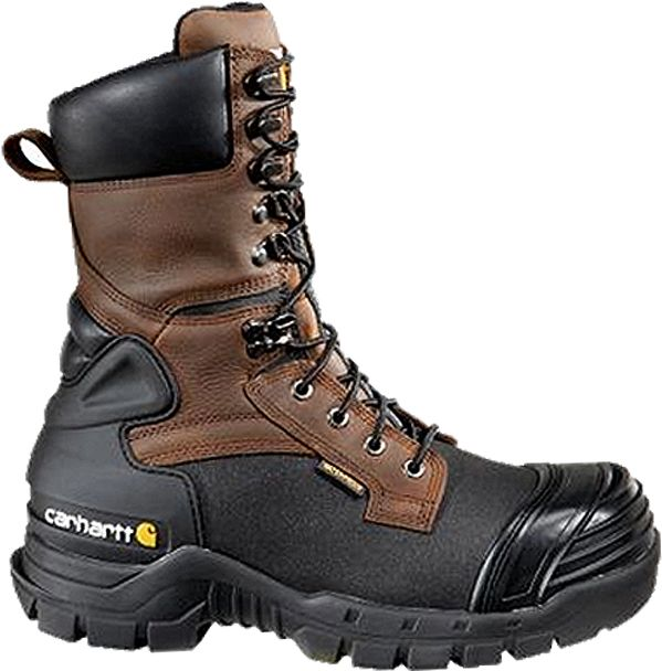 Carhartt Men's 10'' PAC Waterproof 400g Composite Toe Work Boots ...