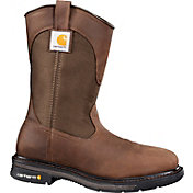 Carhartt Men's 11'' Square Toe Wellington Steel Toe Western Work Boots