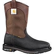 Carhartt Men's 11'' Square Toe Wellington Waterproof Steel Toe Work Boots