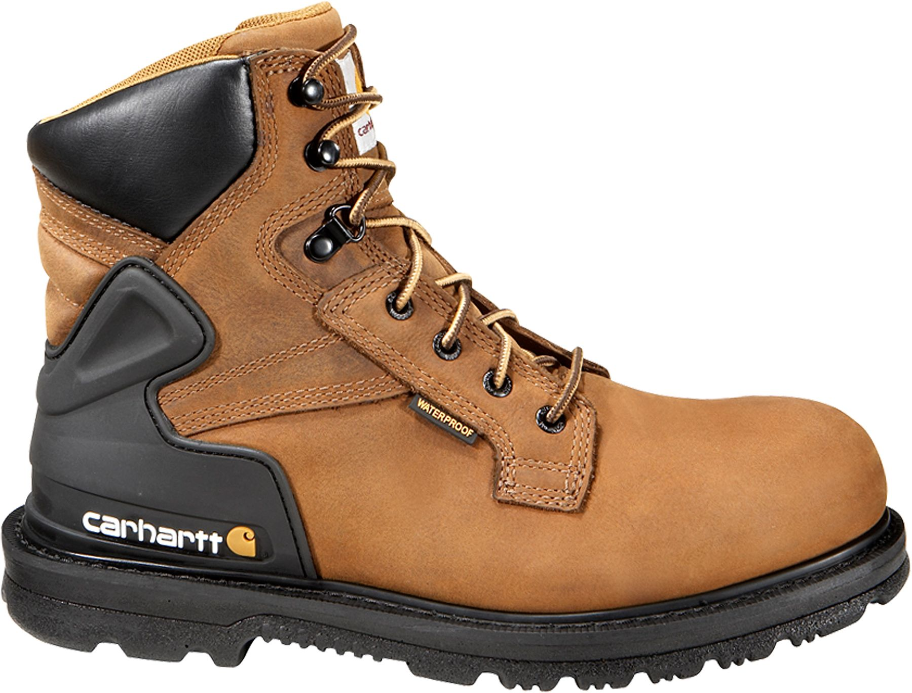 Carhartt Men's Bison 6'' Safety Toe Waterproof Work Boots| DICK'S ...