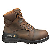 Carhartt Men's 6'' Heel Stabilizer Safety Toe Waterproof Work Boots