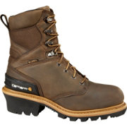 Carhartt Men's Logger 8'' Waterproof 400g Steel Toe Work Boots