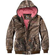 Carhartt Women's Quilted-Lined Camo Active Jacket