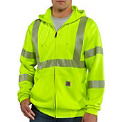 Carhartt Men's High-Visibility Class 3 Full Zip Hoodie