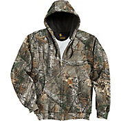 Carhartt Men's Midweight Camo Hooded Sweatshirt