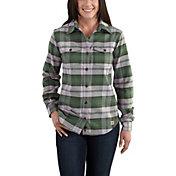 Carhartt Women's Hamilton Flannel II Long Sleeve Shirt