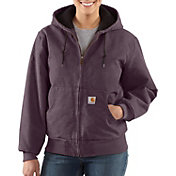 Carhartt Women's Sandstone Quilted Flannel Active Jacket