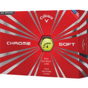 Callaway Chrome Soft Yellow Golf Balls - Prior Generation