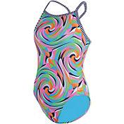 Dolfin Girls' Uglies V2 Back Swimsuit