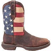 Durango Men's Rebel Patriotic Pull-On Work Boots