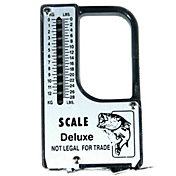 Eagle Claw Scale With Tape Measure