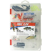 Eagle Claw Bass Tackle Kit - 55 Pieces