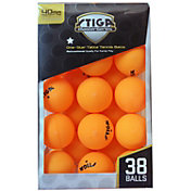 Stiga One-Star Indoor Table Tennis Balls 38 Pack