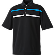 FootJoy Men's Stretch Pique Chest Stripe Golf Polo