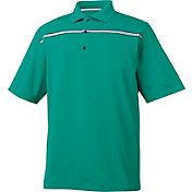 FootJoy Men's ProDry Lisle Chest Stripe Atheltic Fit Golf Polo