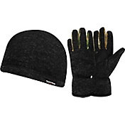 Field & Stream Sweater Fleece Beanie and Glove Set