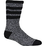 Field & Stream Men's Marled Brushed Heat Striped Socks