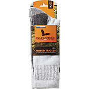 Field & Stream Men's Terrain Trainer Crew Socks 2 Pack