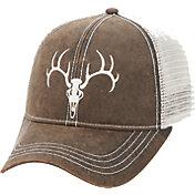 Field & Stream Waxed Skull Mesh Hat