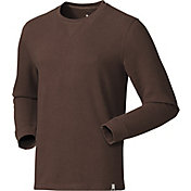 Field & Stream Men's Waffle Knit Crew Neck Shirt