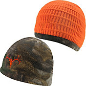 Field & Stream Reversible Deer Skull Beanie