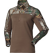 Field & Stream Women's C3 Expedition Weight Quarter Zip Hunting Shirt