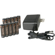 FOXPRO Charger with 10 AA NiMH Batteries