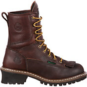Georgia Boot Men's Waterproof Logger Work Boots
