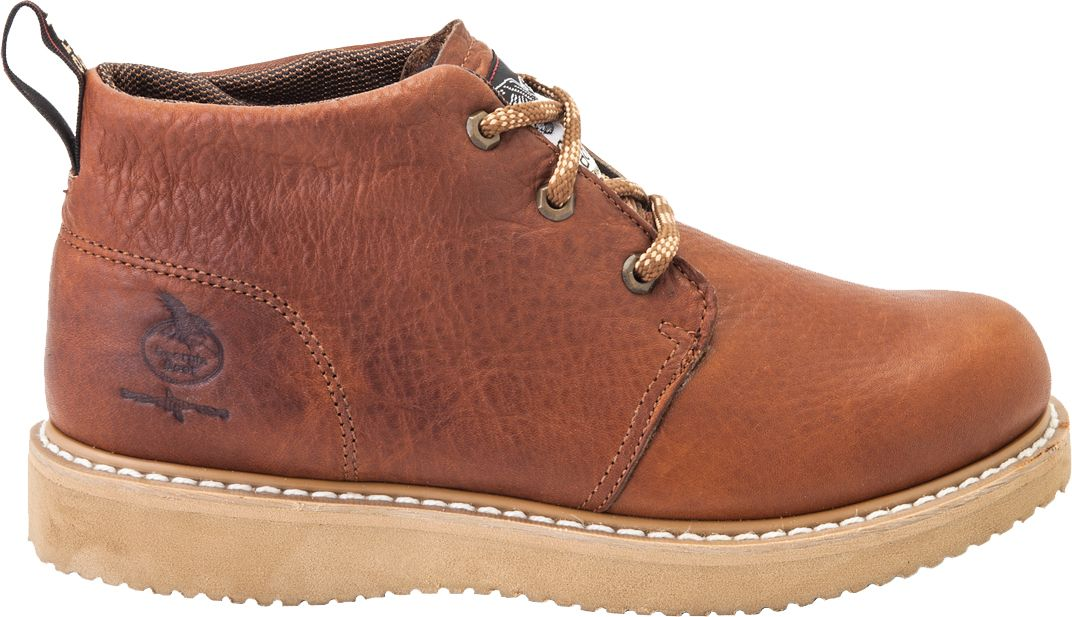 Georgia Boot Men's Farm & Ranch Chukka Work Boots| DICK'S Sporting ...