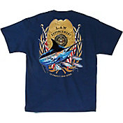 Guy Harvey Men's Law Enforcement T-Shirt