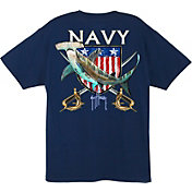 Guy Harvey Men's Navy Hammerhead T-Shirt