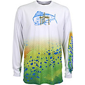 Guy Harvey Men's Pro UVX Performance Long Sleeve Shirt