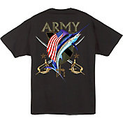 Guy Harvey Men's Army Crest T-Shirt