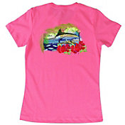 Guy Harvey Lady's Sunny Palms T-Shirt