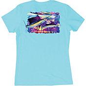 Guy Harvey Women's Two Sails Underwater T-Shirt