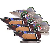 Hard Core Wood Duck Decoy - 6 Pack