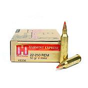 Hornady Varmint Express Rifle Ammo – 20 Rounds