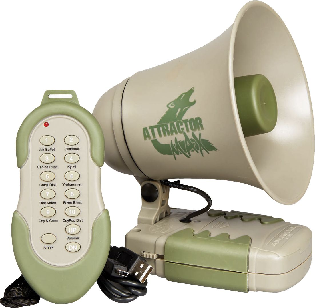 Game on closeouts sporting goods - Product Image Hunters Specialties Johnny Stewart Attractor Max Predator Call