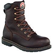 "Irish Setter Men's 8"" Aluminum Toe Work Boots"