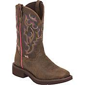 Justin Women's Buffalo Waterproof Gypsy Boots